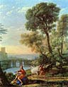 Landscape with Apollo Guarding the Herds of Admetus and Mercury Stealing them