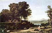 Landscape with a River God Apollo and the Muses