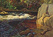 A rapid in the North