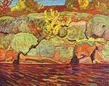 Autumn colour Rock and Maple