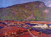 Logs-on-the-Gatineau