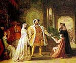 Henry the Eight's First Interview with Anne Boleyn