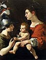 The Virgin and the Child with Saint Michael