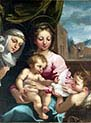 Virgin and Child with the Young Saint John the Baptist and Saint Catherine of Siena