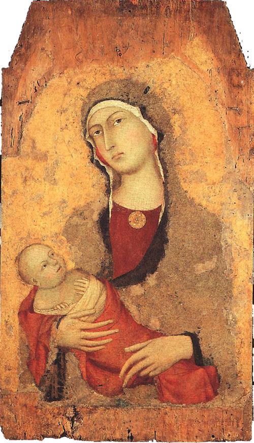 madonna and child from lucignano d arbia