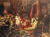 Death of Sigismund Augustus at Knyszyn