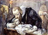 Jan Kochanowski over the Dead Body of his Daughter-Urszulka