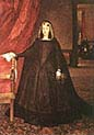 The Empress Dona Margarita de Austria in Mourning Dress
