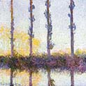 Four Poplars on the Banks of the Epte River Near Giverny