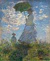Woman with a Parasol Madame Monet and Her Son