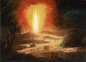 The Eruption of Etna with the Pious Brothers of Catalina