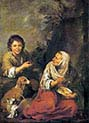 Old Woman and Boy