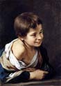 Peasant Boy Leaning on a Sill