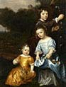 Three Children In A Landscape