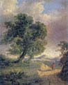 Windy Landscape with Figure