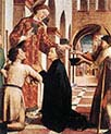 Saint Lawrence Distributing the Alms