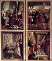 Saint Wolfgang Altarpiece-Scenes from the Life of Christ