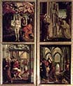 St Wolfgang Altarpiece-Scenes from the Life of Christ-one