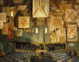 The Great Hall on the Binnenhof in The Hague-During the Great Assembly of the States-General in 1651