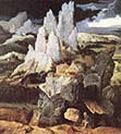 Saint Jerome in Rocky Landscape
