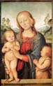 madonna with child and the infant saint john