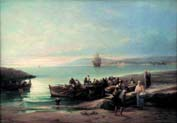 return of the fishing boats[