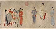 Consort Yang Mounting a Horse