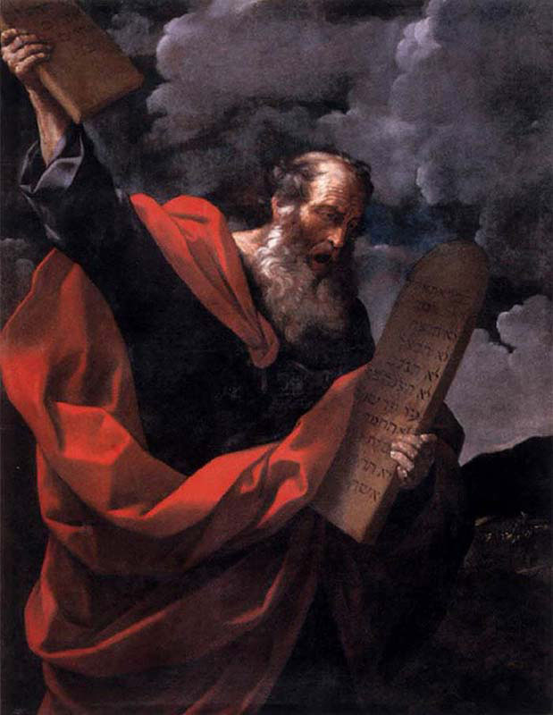Moses with the Tables of Law