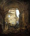 The Church of the Sorbonne in Ruins
