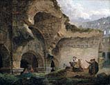 Washerwomen in the Ruins of the Colosseum