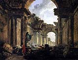 Imaginary View of the Grande Galerie in Ruins