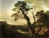 Coastal Landscape with Travellers Resting in the Foreground