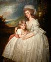 mrs richard pryce corbet and her daughter