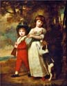 portrait of the vernon children