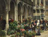flower market in brabant