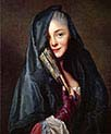 The Lady with the Veil-The Artist-s Wife