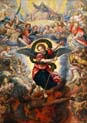 the last judgement with saint michael fighting with satan