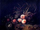 Still Life with Fruit and Insects