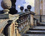 Steps of Church of S S Domenico e Siste in Rome