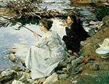 Two Girls Fishing