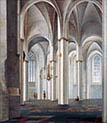 Interior of the Buurkerk-Utrecht