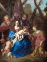 the mystical marriage of saint catherine with saint leopold and saint william