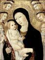 madonna and child with saints anthony abbott and bernardino of siena