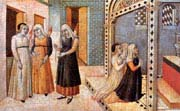 scenes from the legend of saint peter the martyr a miracle