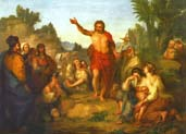 preaching of saint john the baptist