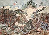 shimin Landscape in Chao Meng-fu Style