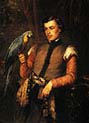 Nobleman with a Parrot