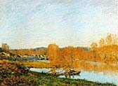 Autumn Banks of the Seine near Bougival