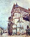 Church of Moret After the Rain