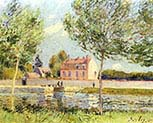Houses on the Banks of the Loing